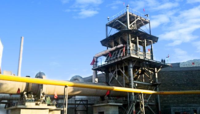 山西建强年产20万吨活性石灰生产线项目