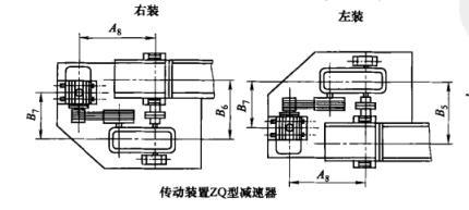 3)td型斗式提升机外形结构示意图