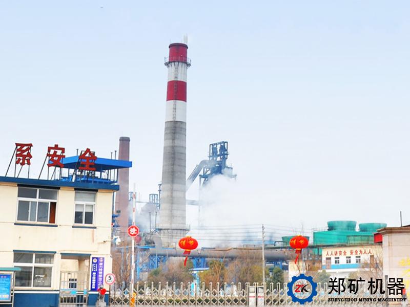 安徽铜陵旋力特钢年产100万吨块矿烘干系统