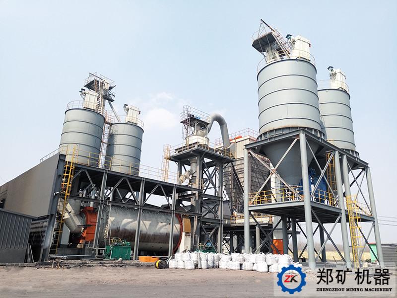 山东泰安新环能年产25万吨煤粉制备生产线