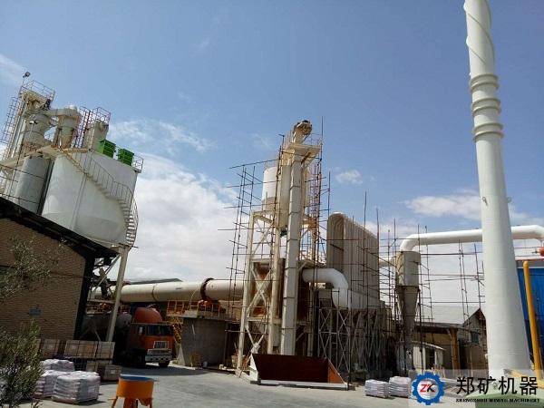 伊朗的50TPD石灰生产线